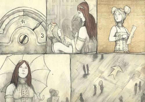 Studienarbeit Illustration Lippoldt 9