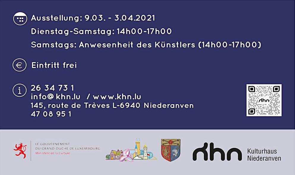 Einzelausstellung Luxemburg